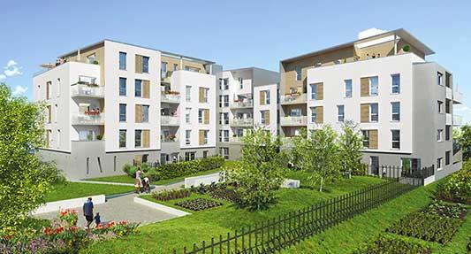 MELUN (77) –  Appartement neuf dans l'écoquartier labellisé WOODI !