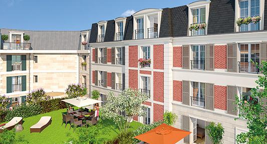 Garches (92) –  Appartement neuf au calme à proximité de Paris