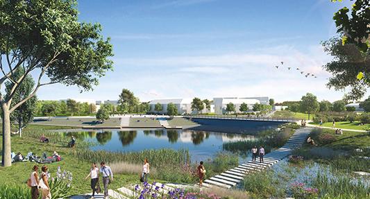 Vivez la ville autrement : Habitez à MELUN au cœur d'un parc habité