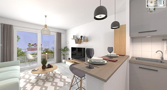 VISITE VIRTUELLE : Découvrez votre appartement sans bouger de chez vous !