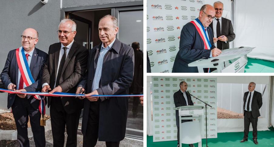 Inauguration du Siège social de KILIC Bâtiment